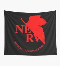 Neon Genesis Evangelion NERV Logo Wall Tapestry