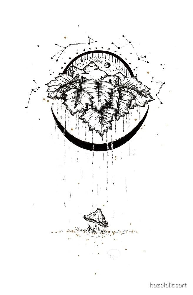 Fairy Rain by hazelaliceart