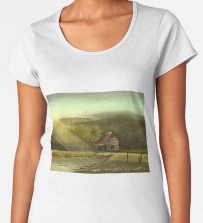 SEASONED, Acrylic Painting, for prints and products Women's Premium T-Shirt