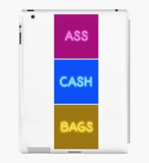 IGGY AZALEA ASS CASH BAGS VERTICAL iPad Case/Skin