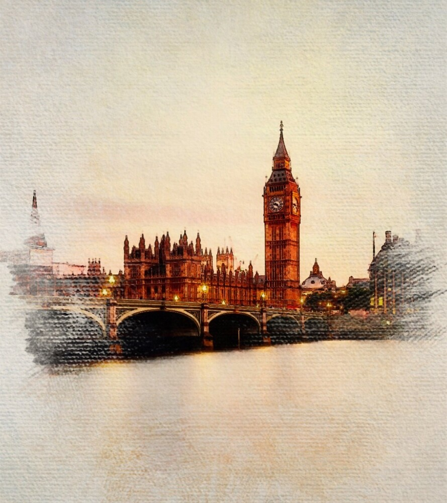 Big Ben, Parliament, London by SerpentFilms