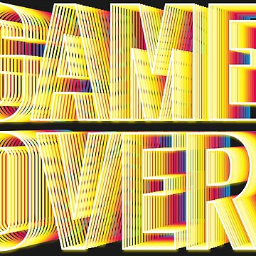 Retro Game Over Screen by Rosenburg