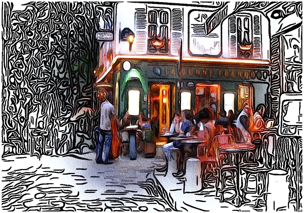 Montmarte, Paris, France by SerpentFilms