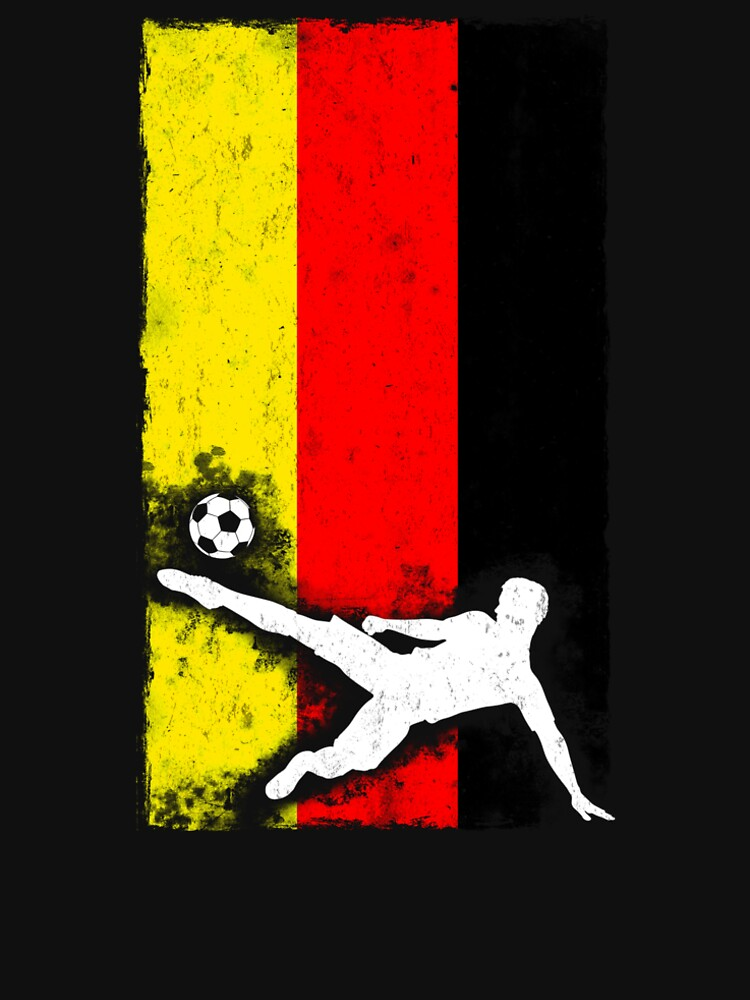 Germany National Soccer Team T shirt by hlcaldwell