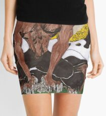 The Wolfman Mini Skirt