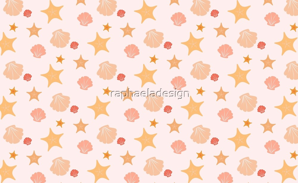 Shell and Star by raphaeladesign