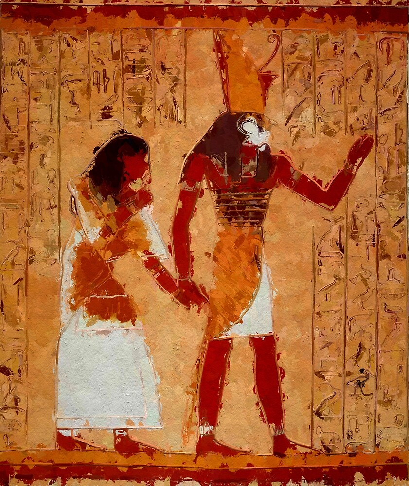 Ancient Egyptian Art by SerpentFilms