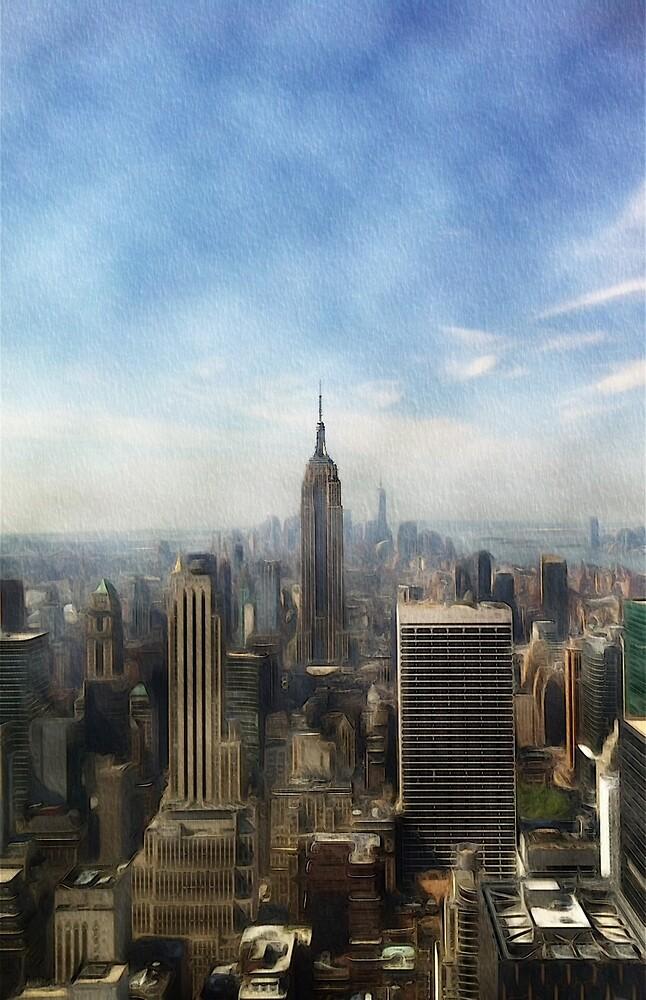 New York Skyline by SerpentFilms