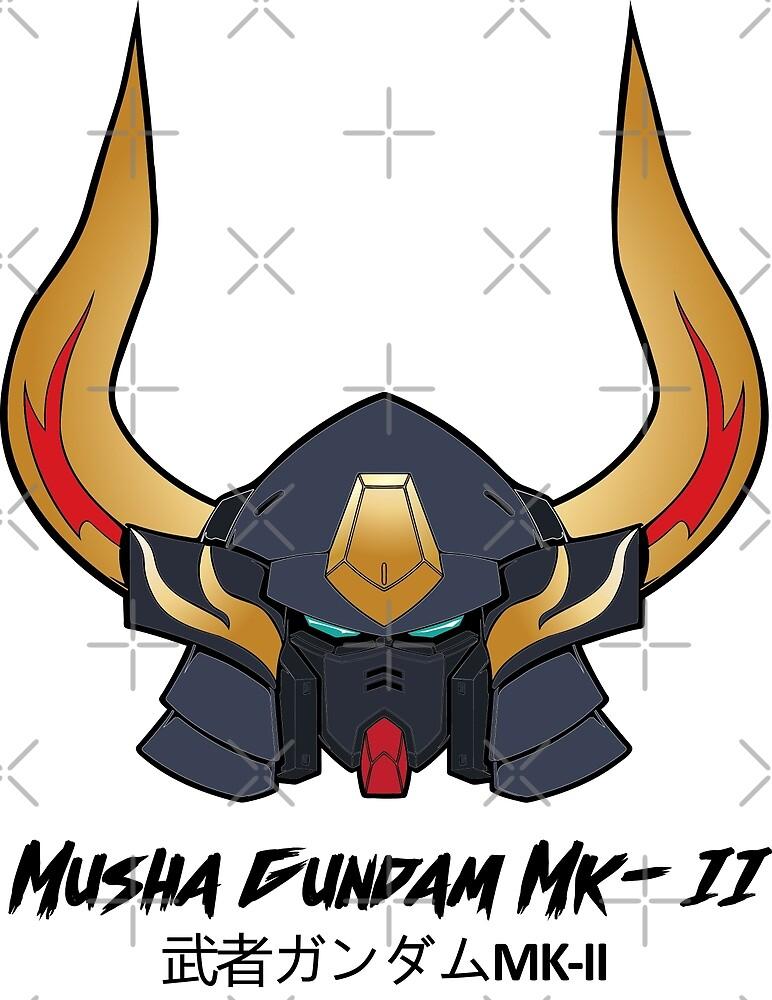 Musha Gundam Mk-II by gtsbubble
