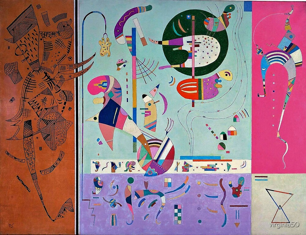 Kandinsky - Various Parts by virginia50