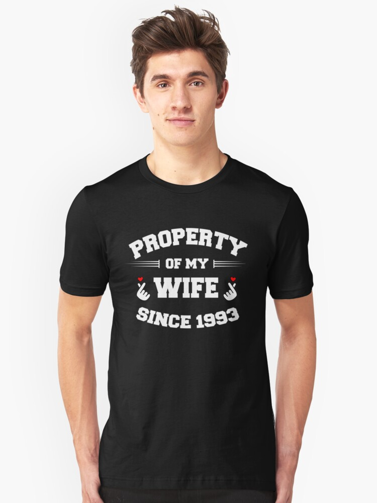 propertywife 1993 Unisex T-Shirt Front