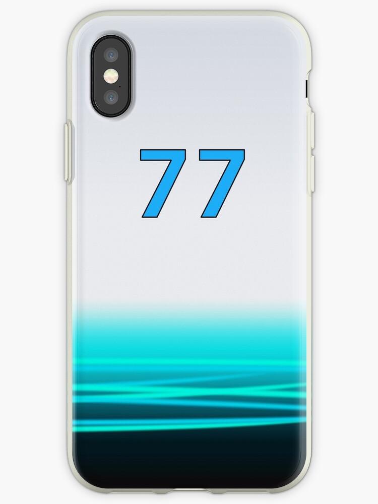 F1 Mercedes Bottas Phone Case by jm95