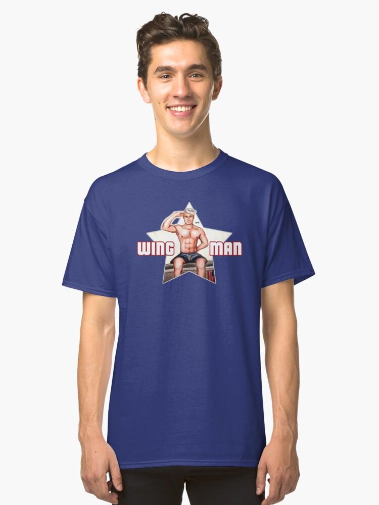 Wingman Classic T-Shirt Front