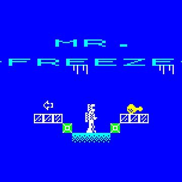Gaming [ZX Spectrum] - Mr. Freeze by ccorkin