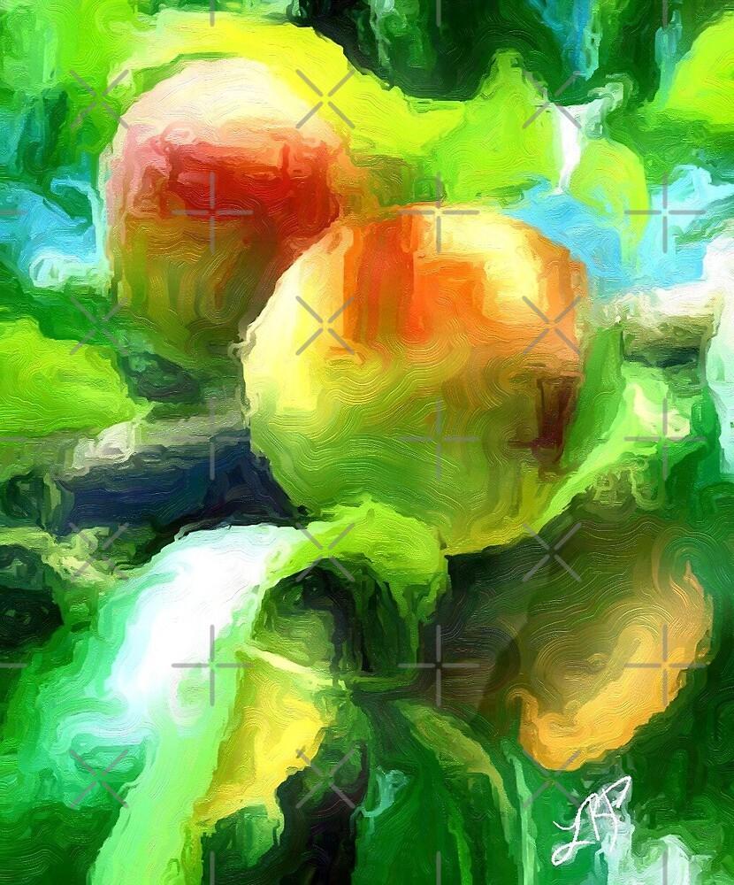 Georgia Peach by Lady Barbara Pinson Artist