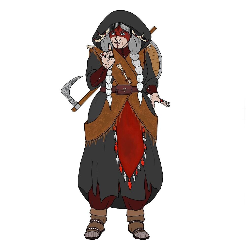 Kona - Dwarf Cleric of Death by ItsRitual