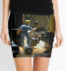 Infestation- penguin Mini Skirt