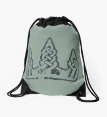 Winterhold Logo · Distressed Drawstring Bag