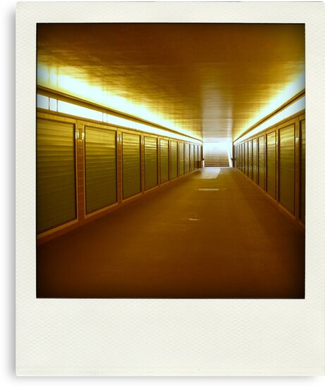 U-Bahn station... by polaroids