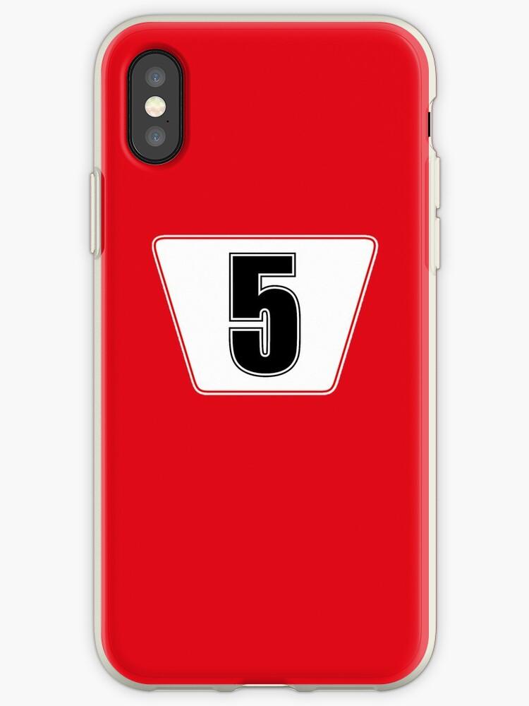 F1 Ferrari Vettel Phone Case by jm95