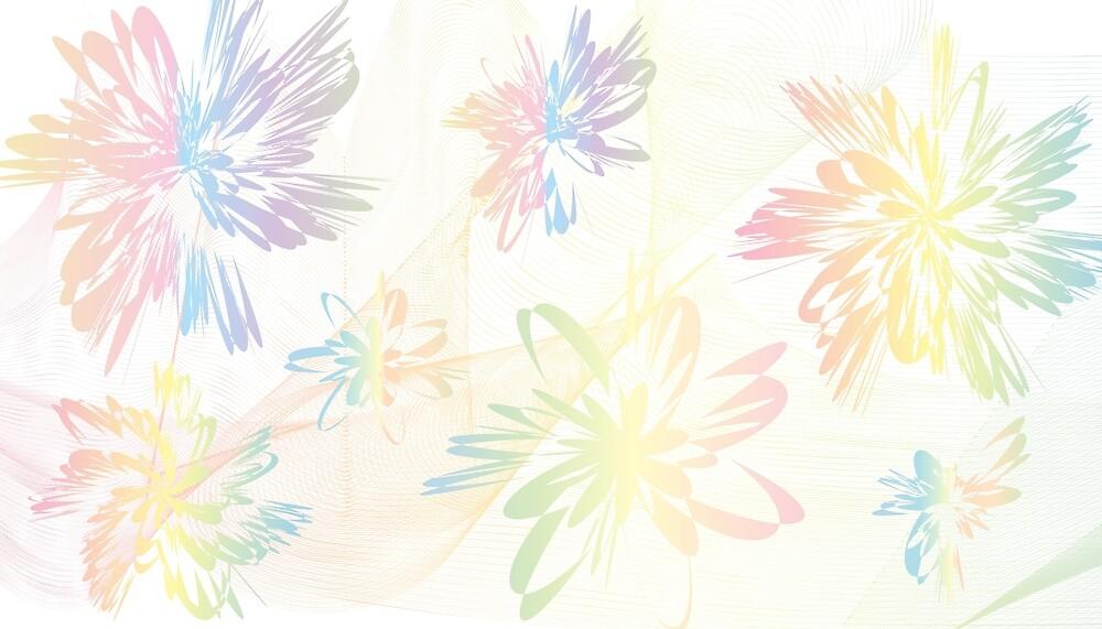 Colorful summer flower pattern  by farhanaj