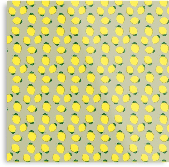 Yellow Green Lemons for summer by Pramila Gupta