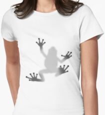 Shadow of the frog Women's Fitted T-Shirt