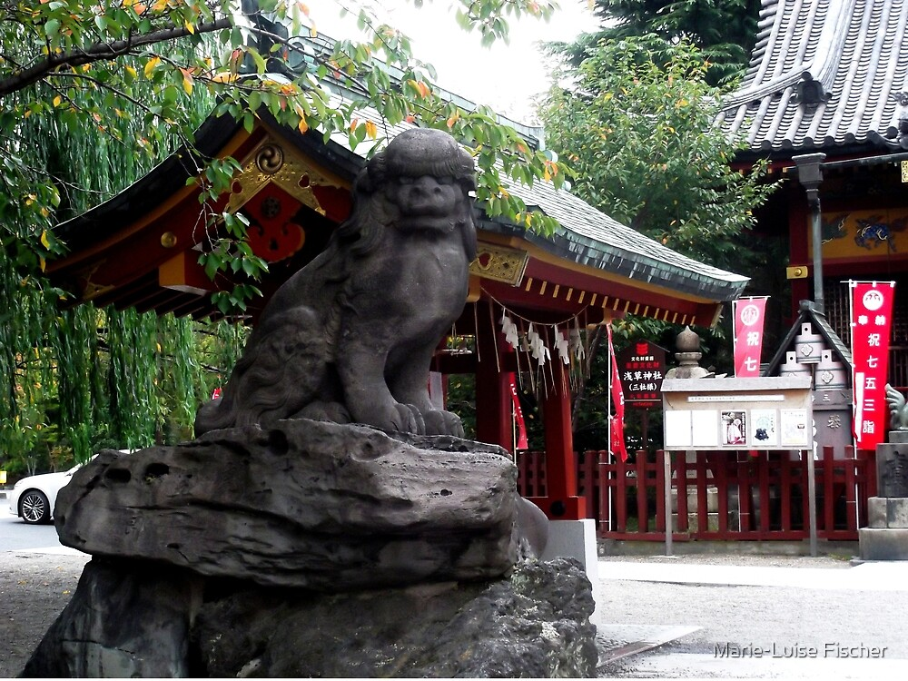 Guardian of Asakusa by Marie-Luise Fischer