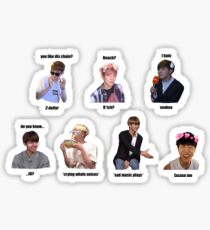 BTS memes / in jokes set 1 Sticker