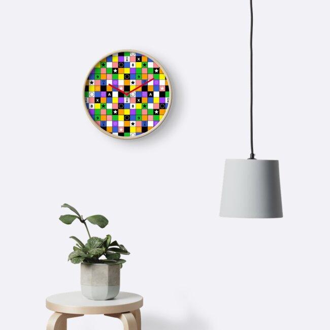 Rubik Cube Block Pattern Repeat Design by Linkbekka