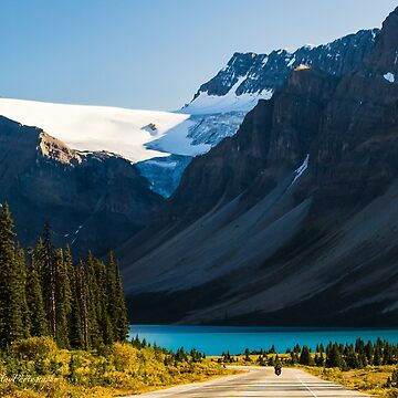Riding the Icefields Parkway by Photograph2u