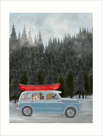 winter holiday by bri-b