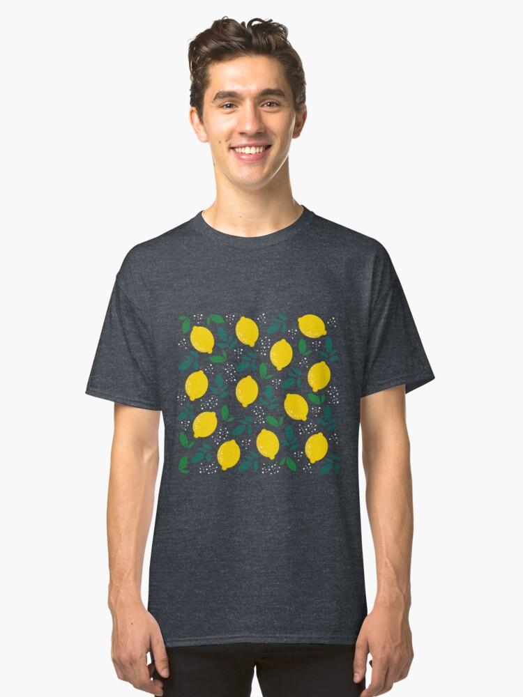 LEMON CITRUS Classic T-Shirt Front