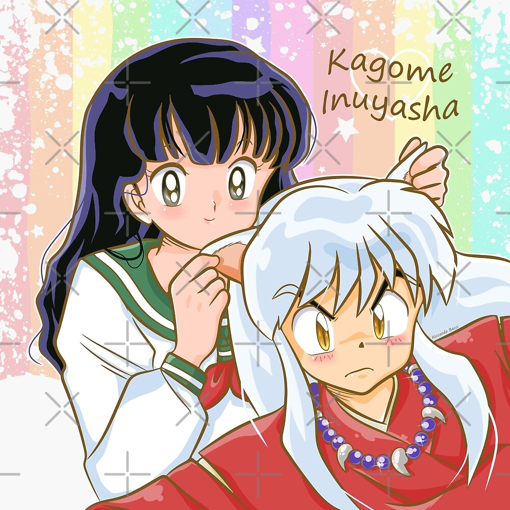 Inuyasha & Kagome by elfenlied29