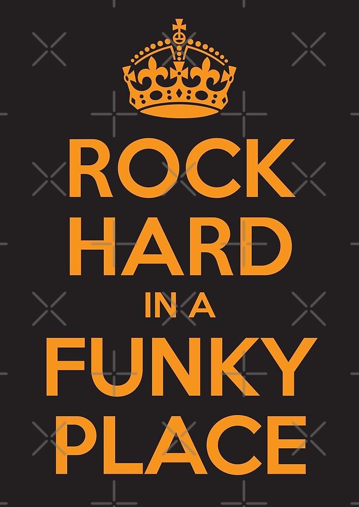 Rock Hard In A Funky Place by Rev3rend