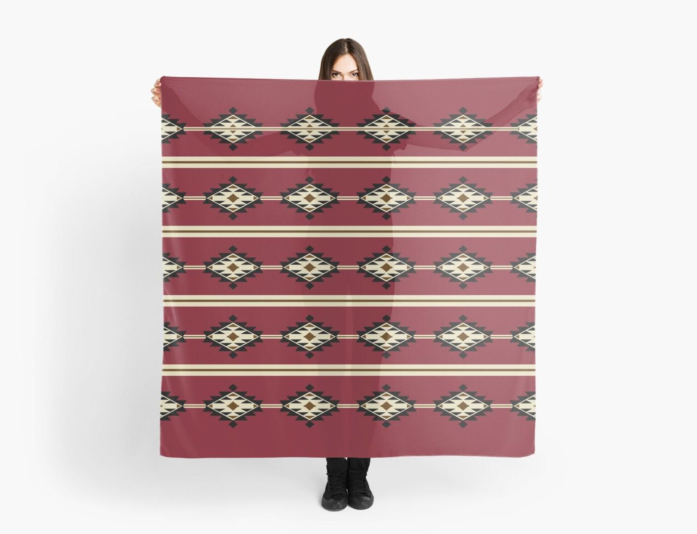 Native American Pattern by Vânia  Gonçalves