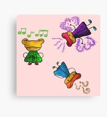 Cute cartoon Canvas Print