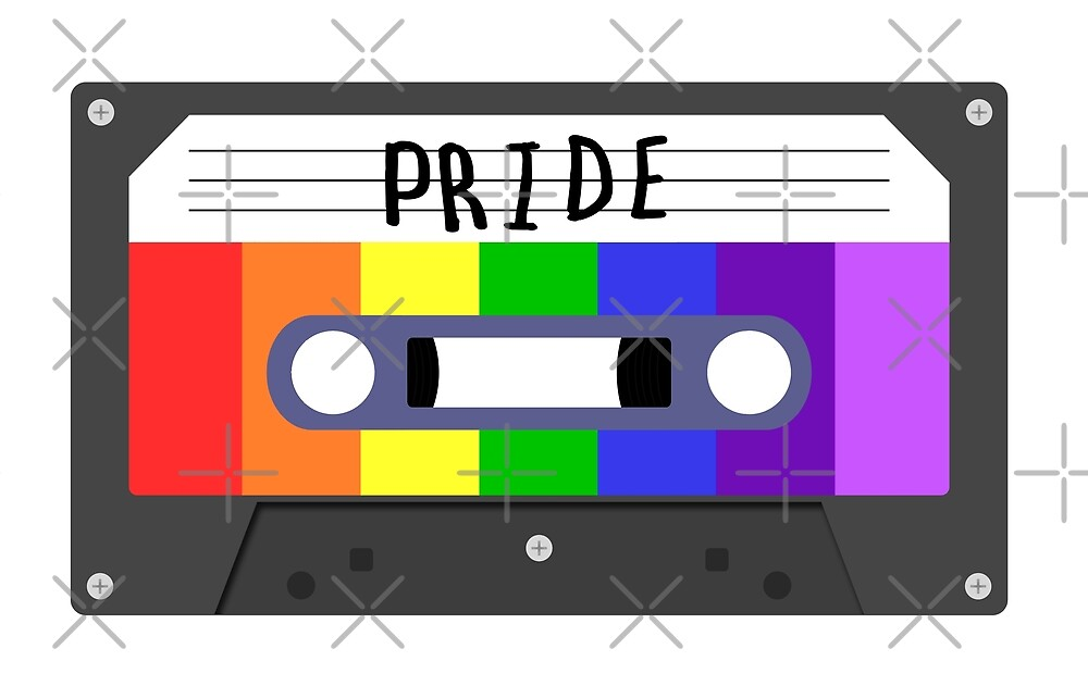 Gay - Pride Tapes by cucumberpatchx