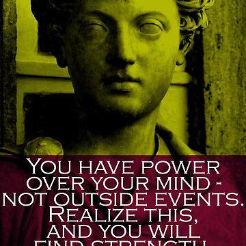Marcus Aurelius Quote 3 by pahleeloola