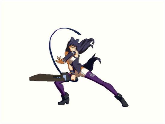 BlazBlue Cross Tag Battle - Blake Belladonna by VinoBurrito