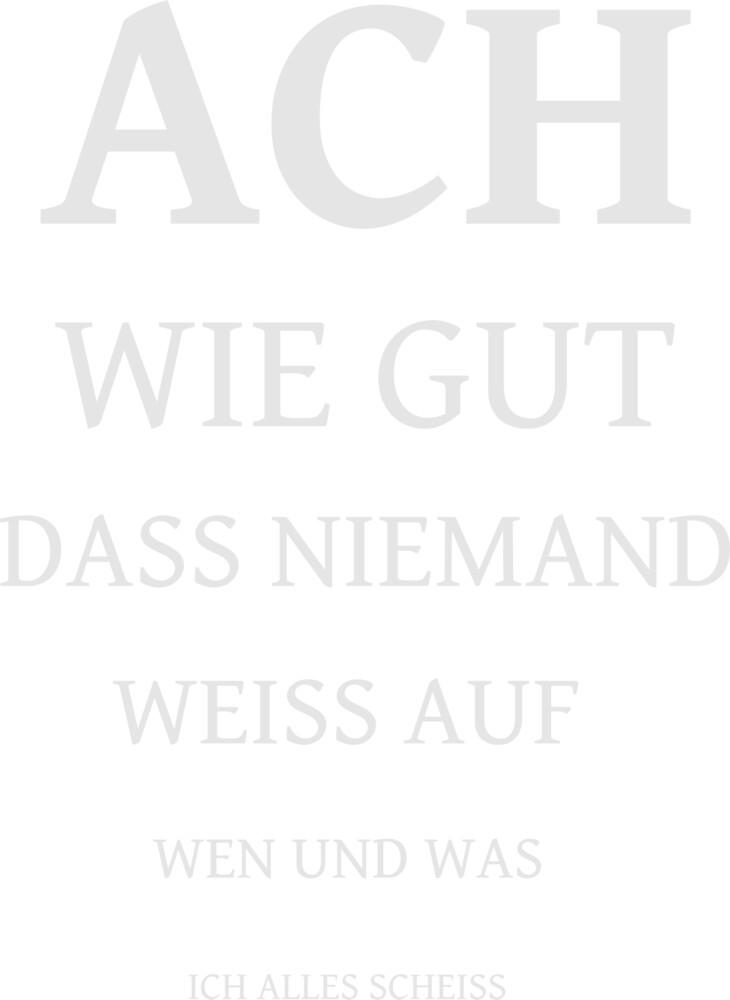 ACH HOW GOOD by rehatschek