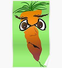 grumble carrot Poster