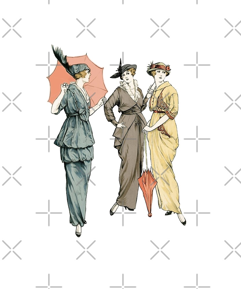 Bright Fashions from Turn of the Century by Jsjustjs