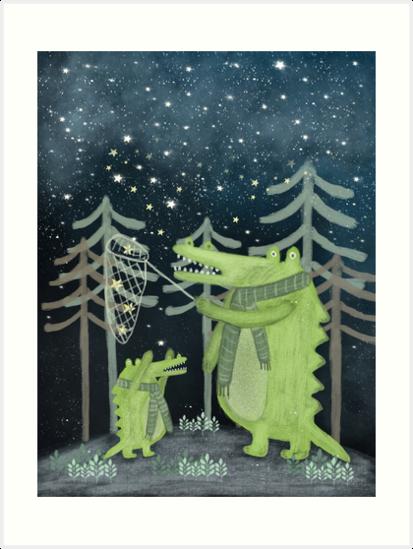 crocodoodle stars by bri-b