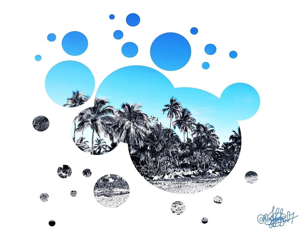 Bubble beach  by Missregal7