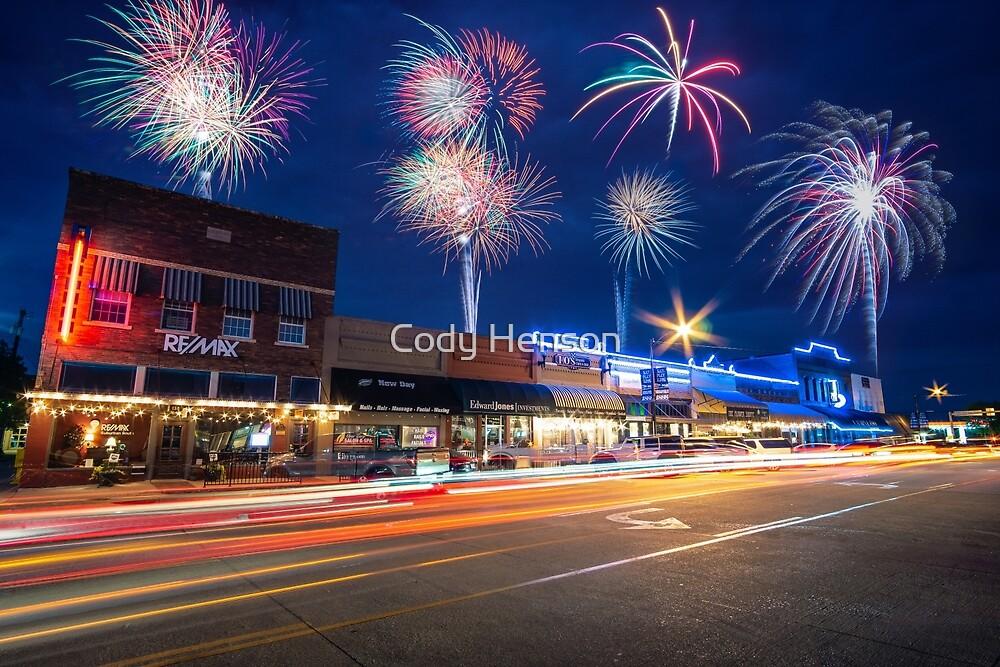 Fireworks Over Midlothian by Cody Henson