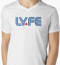 Toronto LYFE!!! Men's V-Neck T-Shirt