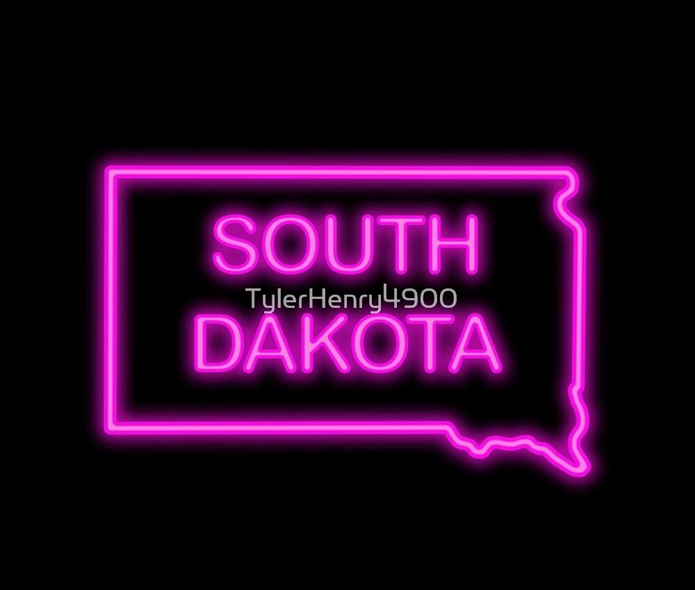 South Dakota neon pink by TylerHenry4900
