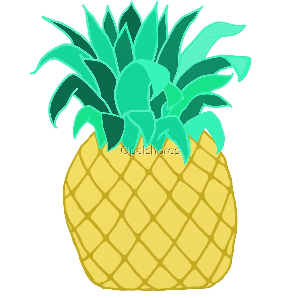 Pineapple 3 by Opalshores