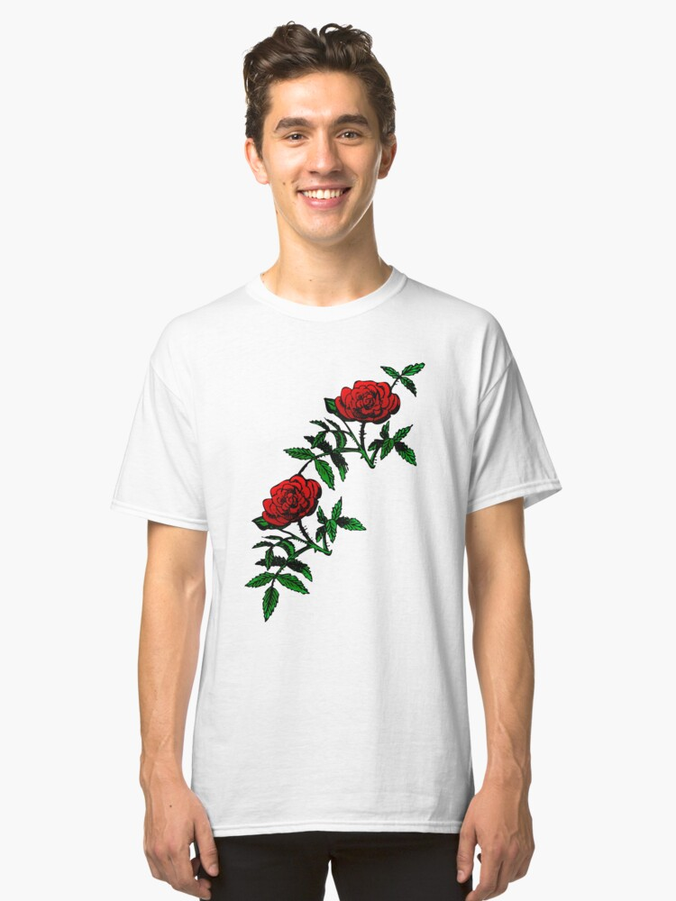 Rose Red Classic T-Shirt Front